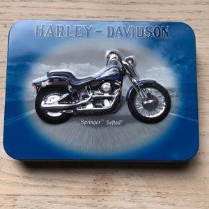 Harley Davidson Springer Softail playing card set